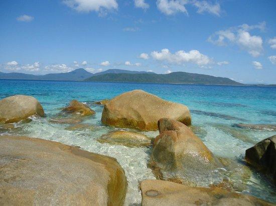 Fitzroy Island Resort: crystal clear water