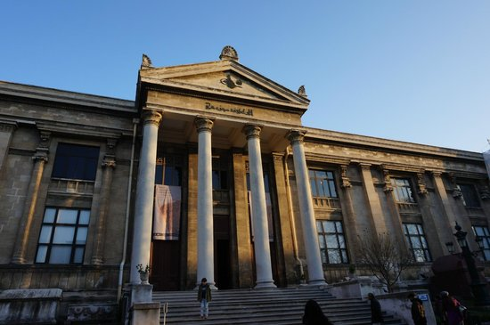 Archäologisches Museum Istanbul (İstanbul Arkeoloji Müzesi): view of the museum part