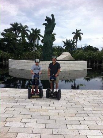 Bike and Roll Miami : Bike and Roll Segway Tour - Miami Beach