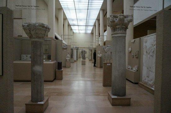 Archäologisches Museum Istanbul (İstanbul Arkeoloji Müzesi): collections of museum