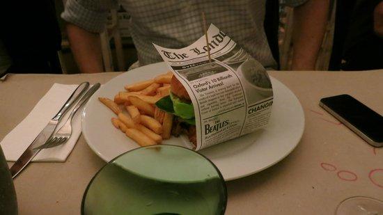 Restaurant Marks: le burger