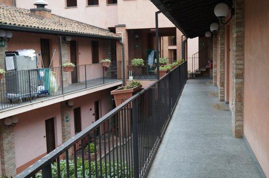 Ca Bianca Hotel Corte del Naviglio: balkon