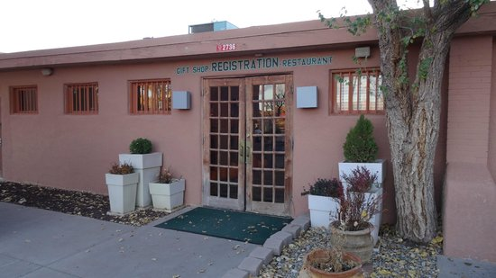 Holiday Inn Canyon de Chelly: reception entrance