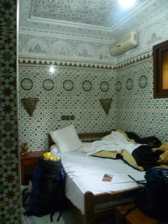 Hotel Tiout: my room