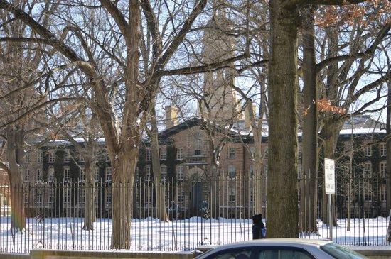 Princeton University: Nassau Hall