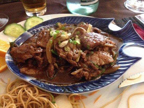 ça Lorraine Cuisine Thionville : Le Saigon: Bœuf aux oignons compris dans le menu du midi à moins de ...
