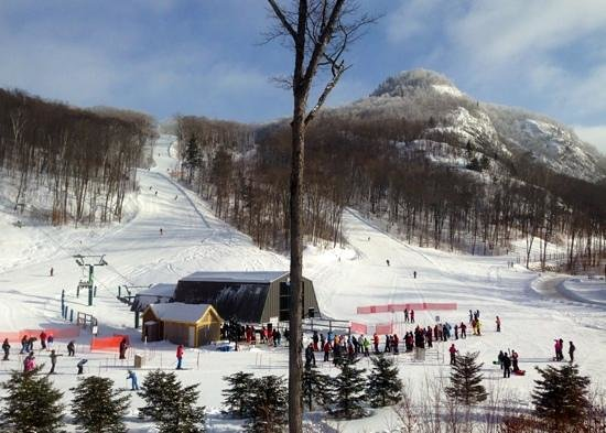 Mont Tremblant Resort: The base at the South Side