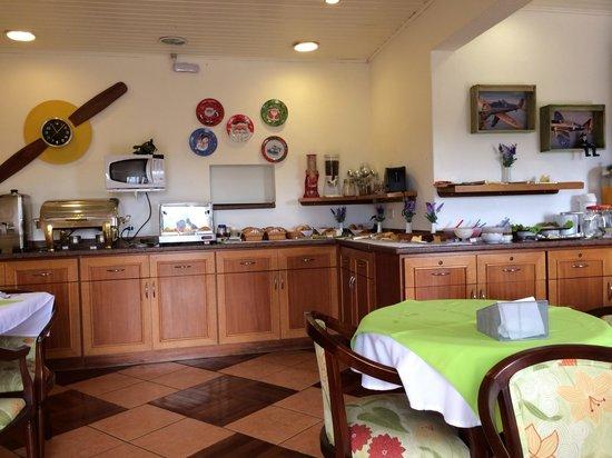 Constellation Lodge: Café da manhã