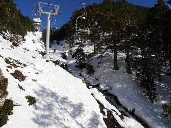 Station de ski - Saint Lary Soulan : Domaine skiable - Saint Lary Soulan - Remontée du Lac