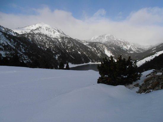 Station de ski - Saint Lary Soulan : Domaine skiable - Saint Lary Soulan - Lac de l'Oule
