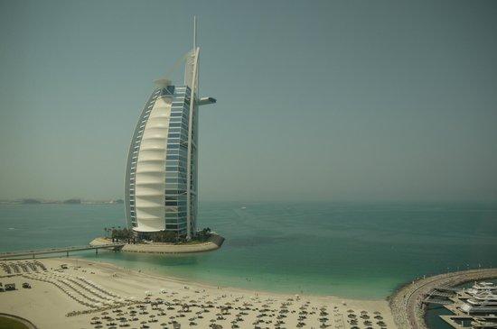 Jumeirah Beach Hotel: Blick aus unserem Zimmer