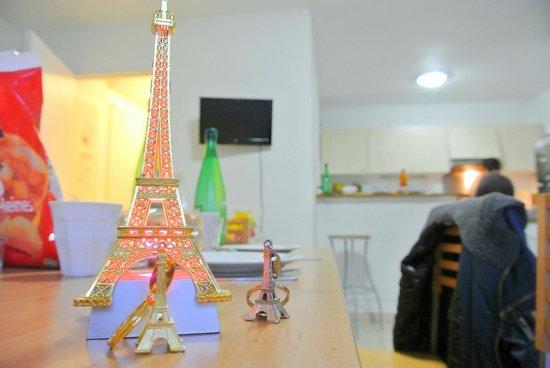 City Residence Bry sur Marne: sala pranzo apt 7 persone