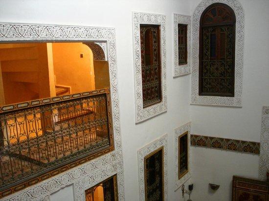 Riad Nassim: Vista dalla suite all'interno del Riad...