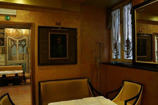 Hotel Dei Dragomanni: Холл отеля