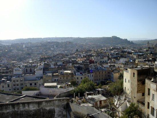 Riad Nassim : Vista durante la colazione dal bellissimo terrazzo