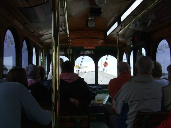 Old Town Trolley Tours of San Diego: All aboard