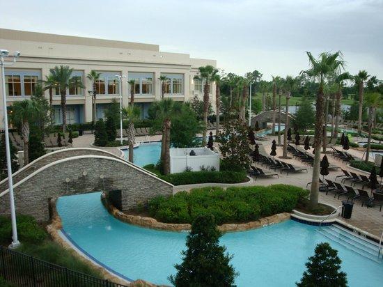 Hilton Orlando Bonnet Creek: Vista da Piscina