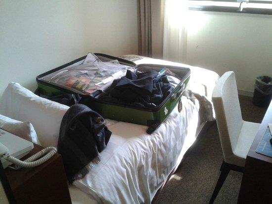 Karasuma Kyoto Hotel : Single room - so small!