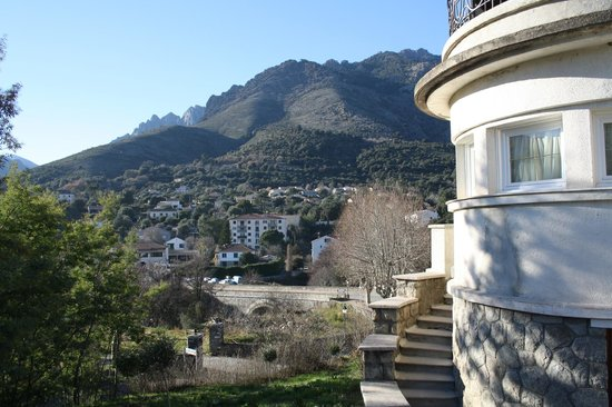 Hotel Si Mea: Vista dall'hotel