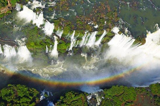 Belmond Hotel das Cataratas: Aerial view of Iguazu Falls