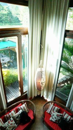 Utropico Guest House: Photo from upstairs
