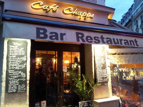Cafe Chappe: Café Chappe, Haupteingang
