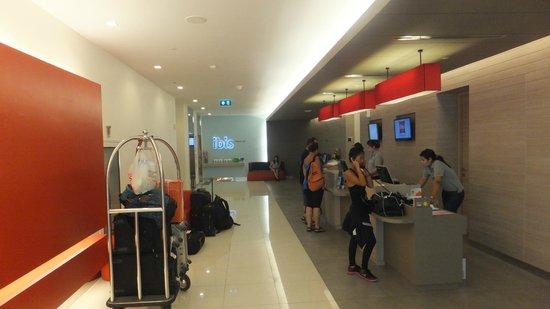 Ibis Bangkok Siam : フロント