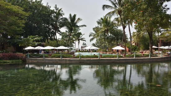 Park Hyatt Goa Resort and Spa : Large pool with plenty of chairs