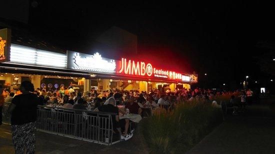 Jumbo Seafood : Am Abend