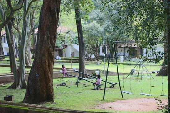 Cinnamon Lodge Habarana: Our kids loved the playground