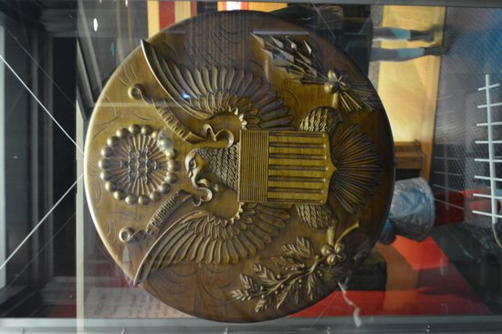 """International Spy Museum: The Great Seal  """"Thing"""""""