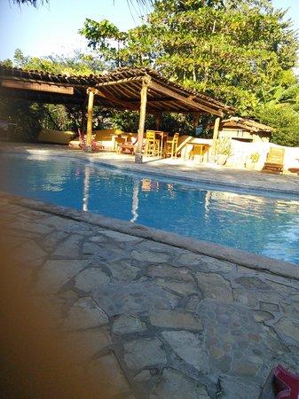 Mango Rosa Nicaragua: poolside at the Mango Rosa