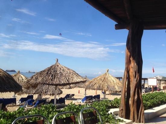 Park Royal Ixtapa: vista del restaurante el pescador