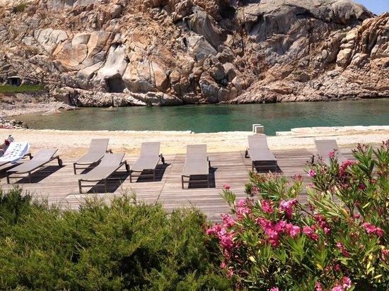 Resort Cava Francese: Il solarium