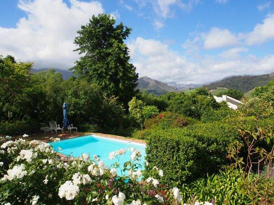 The Garden House : Blick von der Terrasse