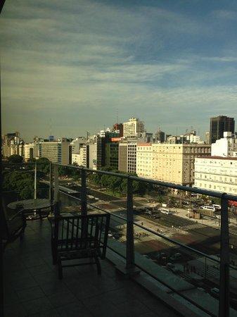 Imperial Park Hotel : Sacada da Suite Presidencial - 11º