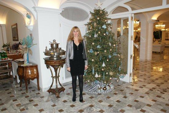 Grand Hotel La Favorita : Ingresso sala ristorante