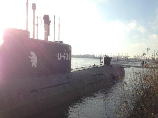 U-Bootmuseum U-434: extérieur