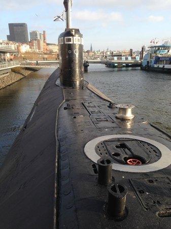 U-Bootmuseum U-434: pont supérieur