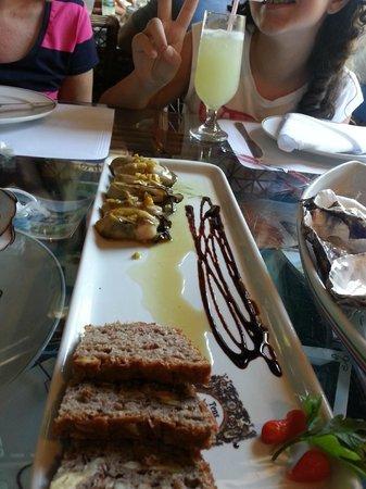 Ostradamus Bar e Restaurante: Ostras com gengibre e mel....recomendo!