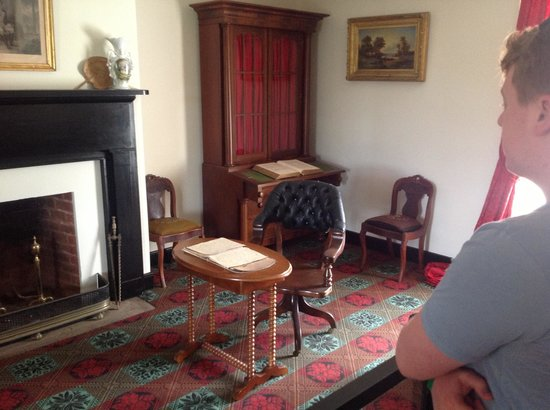 Appomattox, Virginie : Inside the historic room