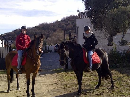 Inma y Luis en El Hotelito