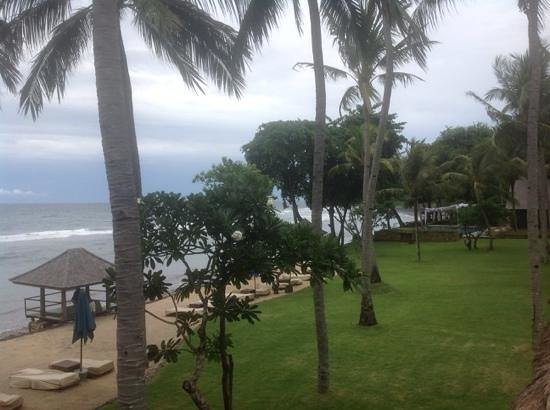 Jeeva Klui Resort: view from the balcony in the wet season