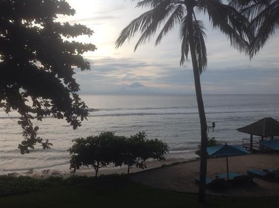 Jeeva Klui Resort : view of mount Agung