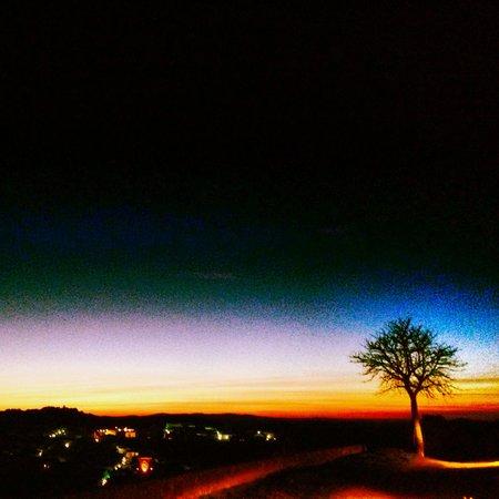 Castillo De Cortegana: At night