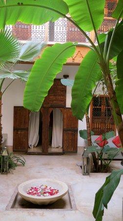 Riad Djebel: le patio