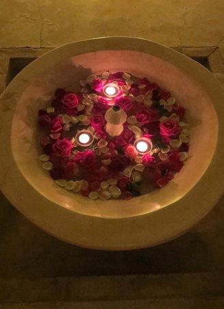 Riad Djebel: fontaine du patio