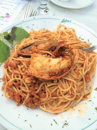 Evita's Italian Restaurant: Suprema Dish at Evita's