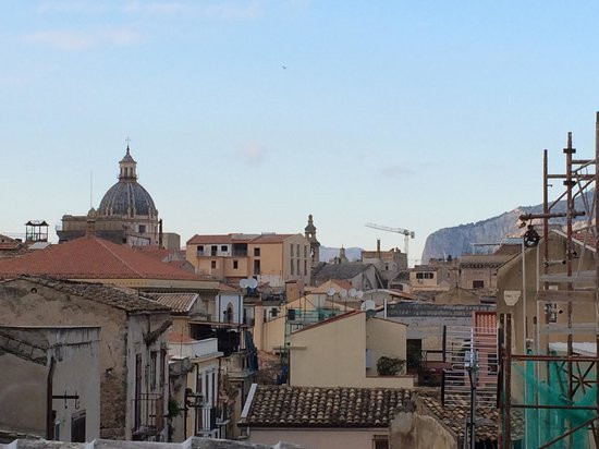 La via delle biciclette: The view from our rooms