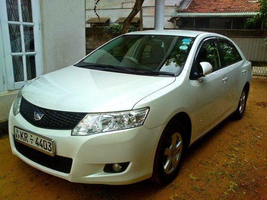 Traverse Lanka Tours: Toyota Allion - New addition to our fleet